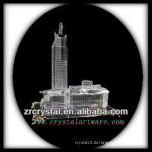Wunderbares Kristallgebäude Modell H047