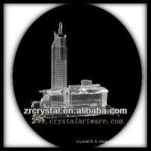Magnifique bâtiment en cristal modèle H047