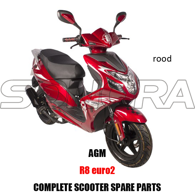 AGM R8-rood