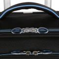 Rodas do rodízio da mala de viagem da bagagem do curso do poliéster da tela