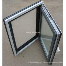Profil de fenêtres battantes les plus bas