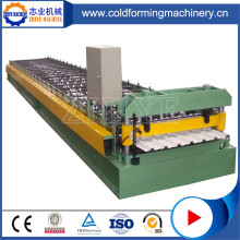 Galvanic Roofing Plate Roll Forming Machine Cena