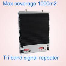 Potenciador de señal para 900 1800 2100MHz 2g3g4g Tri Band