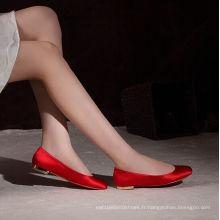 Nouvelle arrivée Fshion mariage robe de dames chaussures (HCY02-1828)
