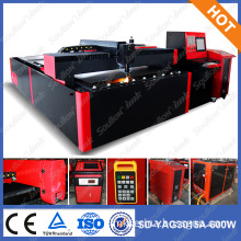 soullon laser: 750w yag large cutting area industrial equipment for cnc metal laser cutting