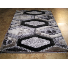 3D Green Polyester Carpets Floor Carpet Tile,