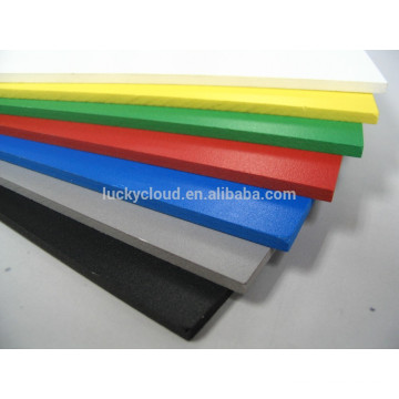Smooth Colorful PVC Forex Board for signage waterproofing