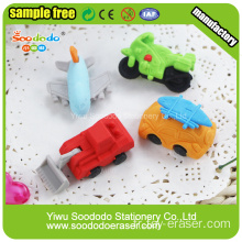 SOODODO Green Ali 3D en forme d'animal Mini Erasers