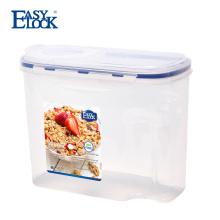 Récipient de nourriture sèche Easylock Kitchen Cereal Keeper avec couvercle Filp