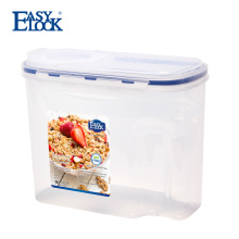 Easylock Kitchen Cereal Keeper Dry Food Container with Filp Lid