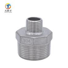 Tuyau de précision de filetage extérieur d'acier inoxydable de fonte directe \ Joint de tuyau de chaleur de moulage de précision