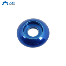 OEM red aluminium anodized countersunk washer