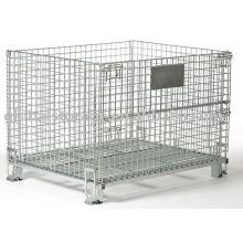 Entrepôt global de cages de conteneur de fil de devoir moyen