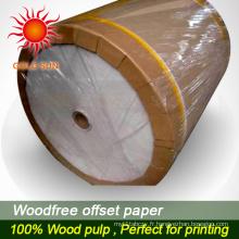 Papier offset haute qualité pour l'impression offset
