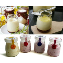 100ml Wholesale Cute Jam/ Yogurt/ Pudding Glass Jar/ Bottle
