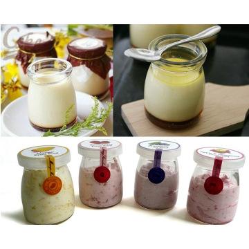 100ml Wholesale Cute Jam/ Yogurt/ Pudding Glass Jar/ Bottle