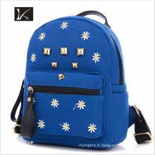 L'école adaptée aux besoins du client d'usine fournit le sac à dos d'école secondaire / sac d'école / sac d'école d'enfants