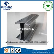 Poste de acero de la cerca del metal de la forma del melocotón