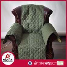 wholesale cheap chair covers,plain army green ultrasonic embossing,Top quality Hot sale sofa cover