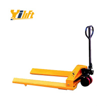 1.5 ton hand manual type Paper Roll Pallet Truck with strong steel material