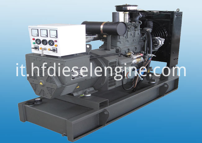 water cooled deutz diesel genset