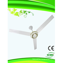 56 Inches 12V DC Solar Ceiling Fan Indoor (FC-56DC-G)