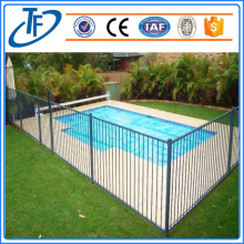 Pool fence panel, temporary fencing