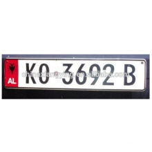 Rectangle Reflective Car Plate