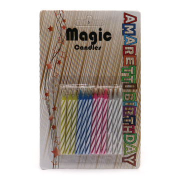 Magic Relighting Decorative Candele di compleanno