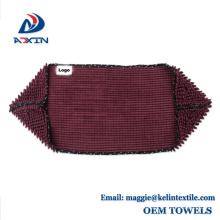 Toalla ultra absorbente del perro de la felpa de la microfibra del Dry Dry de los productos de China con el bolsillo