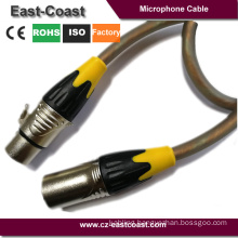 New design 3pin Xlr male to female Microphone Cable
