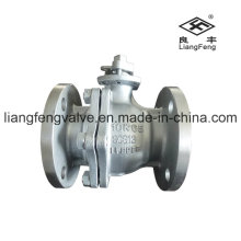10k Ball Valve Flange End with Stainless Steel