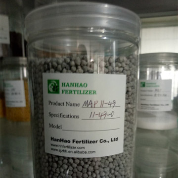 Mono Ammonium Phosphate fertilizer MAP 11-44-0 Grey granular