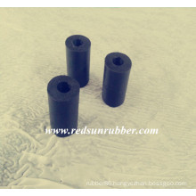 Custom Cylindrical Hard Rubber Block