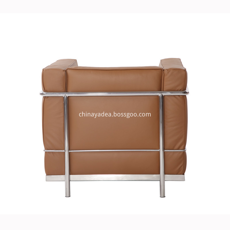 Le Corbusier LC2 Leather Sofa