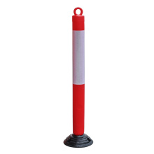 1200mm reflective road traffic warning post