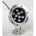 9W LED Underwater Light Single Color IP68