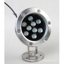 Couleur sous-marine légère de 9W LED imperméable à l'eau