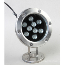 9W LED Underwater Light Single Color Waterproof