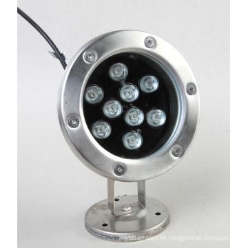 9W LED Unterwasserlicht Single Color Waterproof