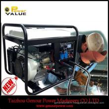 Détecteur d'arc électrique portatif Groupe électrogène à courant alternatif à courant alternatif à soudure à ultrasons en plastique