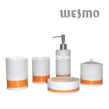 Porcelain Bath Accessories Set (WBC0429A)