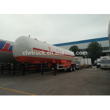 2015 Qualität 3 Achsen lpg Tankanhänger, China große lpg Tank semi Anhänger Fabrik