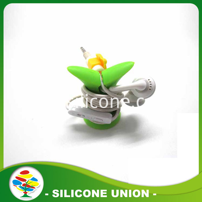 silicone Earphone Cable Wrap