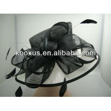 El sombrero de Sinamay del sombrero hace a Sinamay Gorra