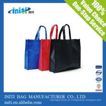 Sacos de compras não tecidos feitos sob encomenda do polypropylene