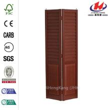 18 pulg. X 80 pulg. 3 pulg. Lente / Panel Cerezo Composite Interior Puerta Bi-plegable