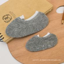 Corte de baixo de algodão de crianças meias invisíveis