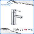 Brass Chromed Single Handle Bathroom Basin Tap Faucet (AF6002-6B)