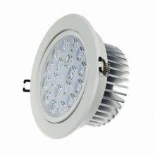 High-power 18W LED Ceiling Light with Samsung Chip, AC 85-260V, 3,000-6,500K CCT